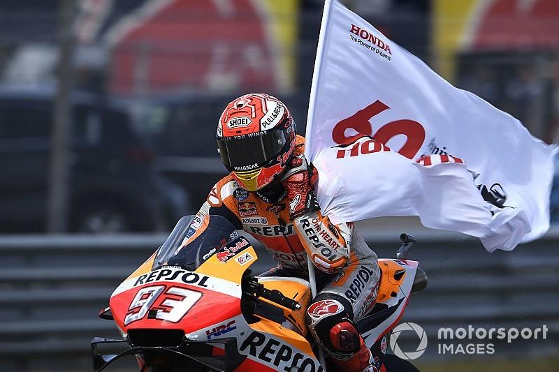 """【MotoGP】「表彰台獲得に集中した」マルケス、""""作戦通り""""のレースでタイトル争いを盤石に"""