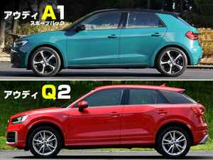 【絶対比較】アウディ入門用モデルとして選ぶべきは、A1スポーツバックか、それともQ2か?