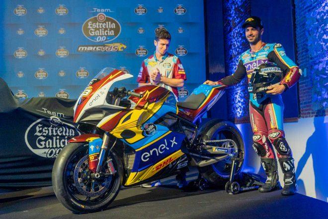 MotoGP:マルケス弟を擁するマークVDSが体制発表。MotoEマシンのカラーリングもお披露目