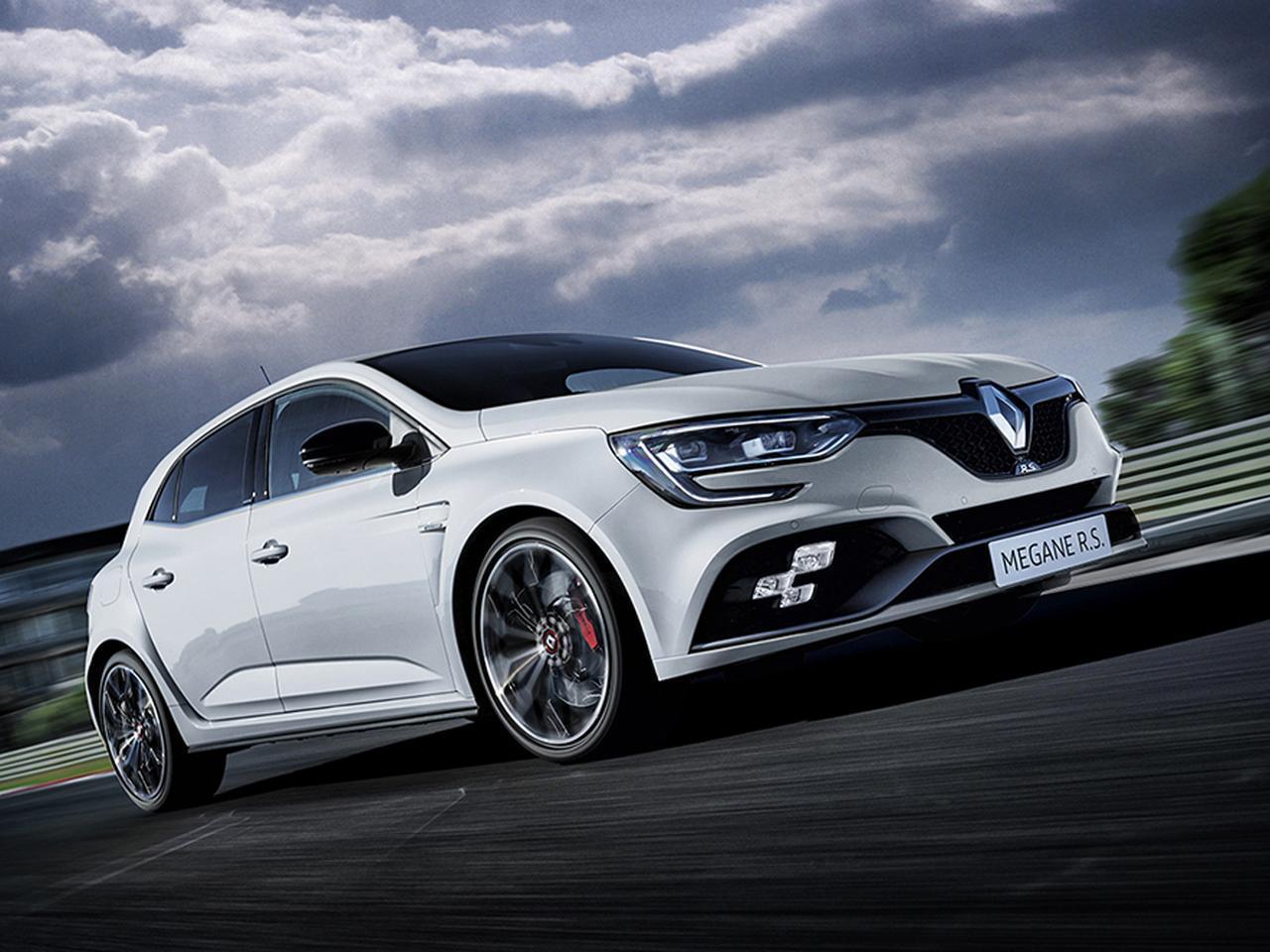 6速MT搭載の限定車 メガーヌ ルノー・スポール カップ発売、これって、メチャ楽しそう!