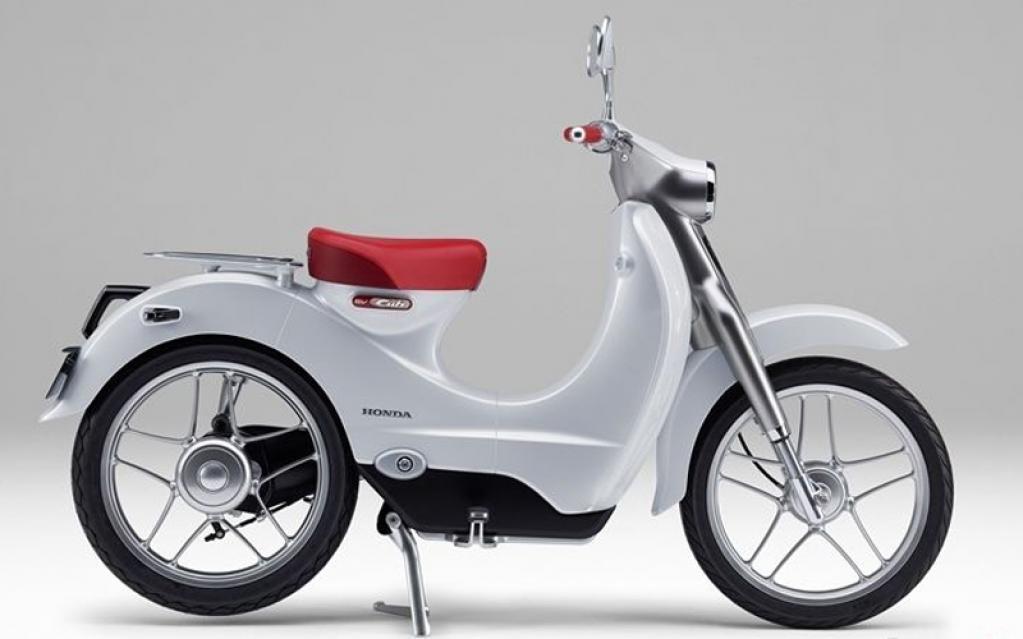 「シティカブ」と「EV-Cub Concept」新たな姿を提案した未来のスーパーカブたち