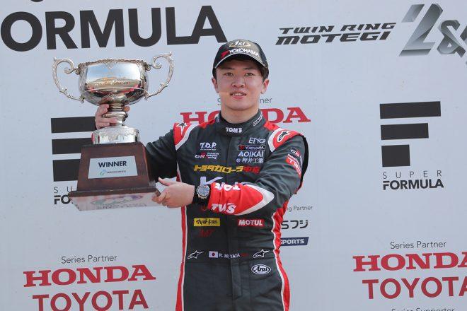 全日本F3選手権第17戦もてぎ:宮田がフルマークで6勝目、タイトル決定を阻止