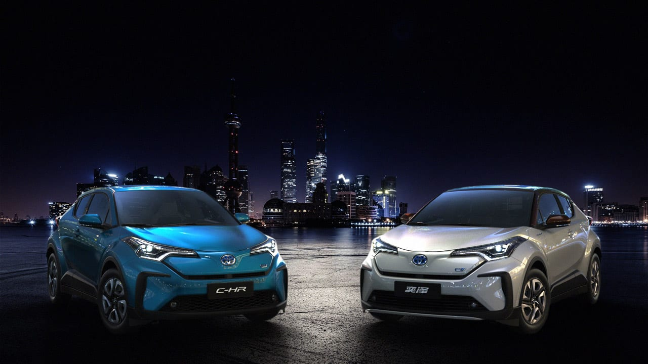 【速報!】EVはフェイスが違う? トヨタ・C-HRにピュアEVが登場! 上海モーターショー