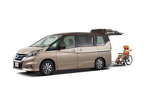 日産自動車「バリアフリー2019」で先進技術を搭載した福祉車を展示