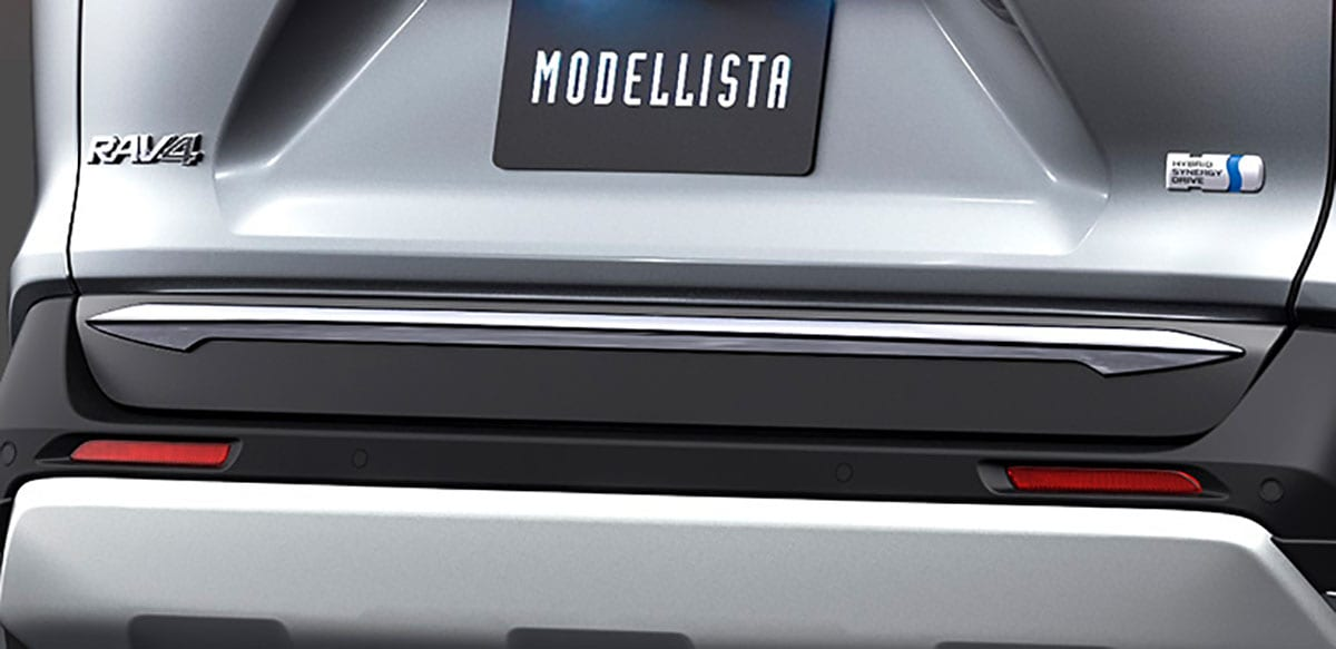 アーバンスタイルな標準グレード向けエアロ|新型RAV4を速攻イジるならモデリスタ!【前編】
