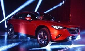 マツダ、新型SUVのCX-4を北京で初披露。最新フォトで紹介