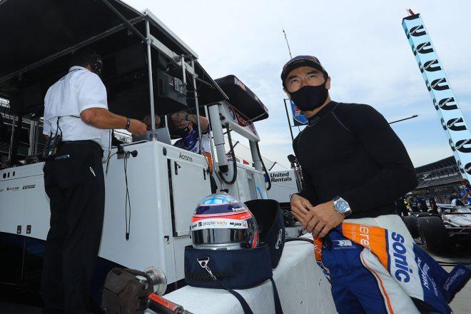 11度目のインディ500に挑む佐藤琢磨の走行初日は13番手「まずまずの出だしだったと思う」