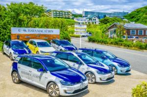 VWジャパン、葉山で「eゴルフ」の飲食デリバリーサービス