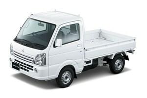 三菱自動車、軽商用車「ミニキャブ トラック」を一部改良、燃費を向上
