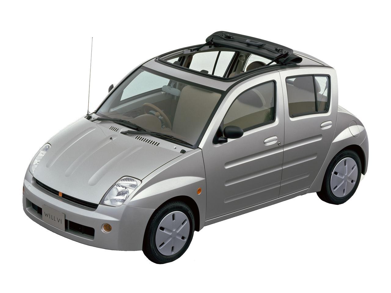 【やんちゃなトヨタ】異業種とのコラボで誕生した「WiLL Vi」は常識破りのデザインだった(その9)
