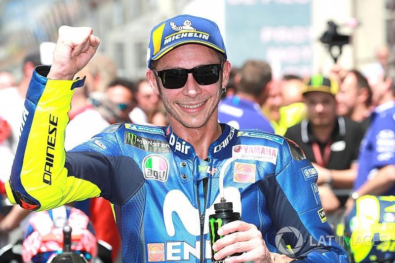 バレンティーノ・ロッシ、開幕戦以来の表彰台も「コースレイアウトに助けられた」/MotoGPフランスGP決勝