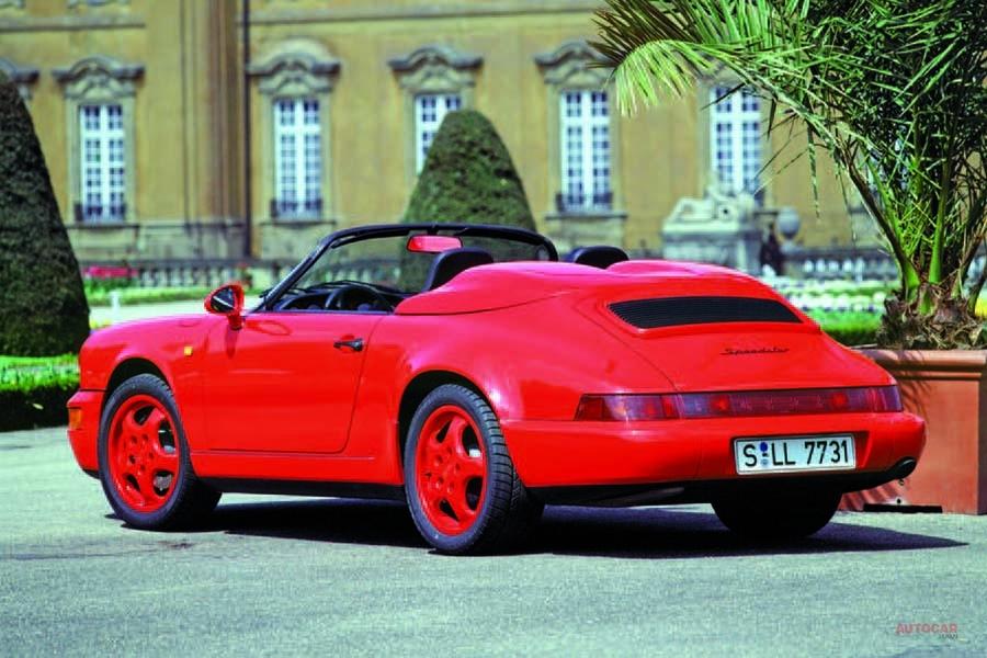 ポルシェ911スピードスター 991.2型、GT3の4.0ℓ自然吸気を搭載か
