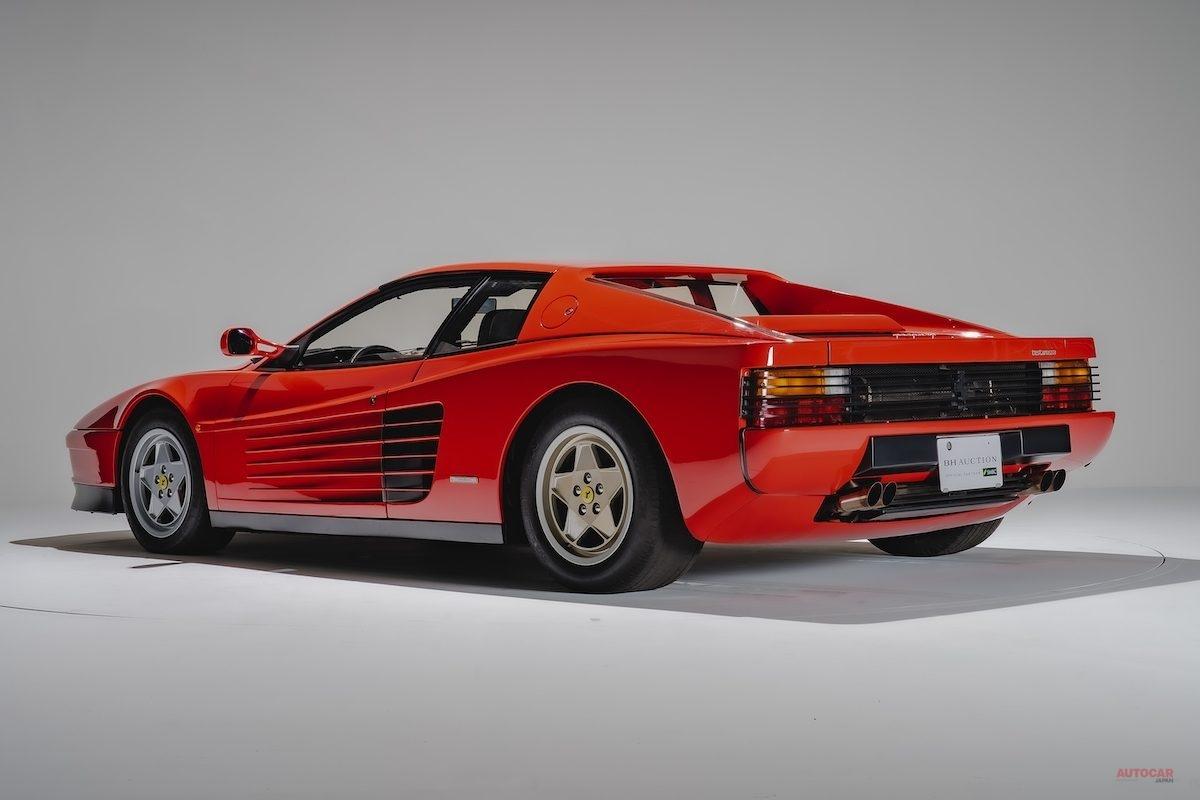【さすがの人気】フェラーリ・テスタロッサ(1990年) BHオークション