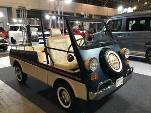 完成したのは3日前、昭和46年式の軽自動車がオシャレに生まれ変わる(東京オートサロン2020)