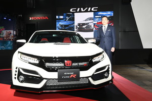 FF最速の奪還へ! ホンダ シビックタイプRの改良モデルを公開【東京オートサロン2020】