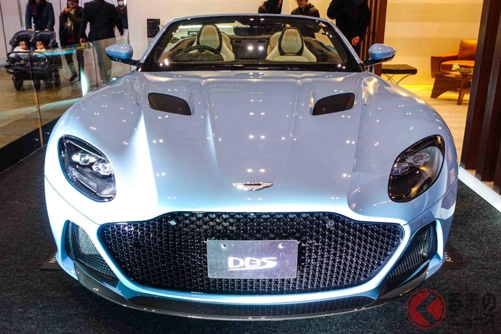 総額6000万円!! アストン・マーティン「DBX」と「DBSスーパーレッジェーラ・ヴォランテ」が東京オートサロンにやってきた!
