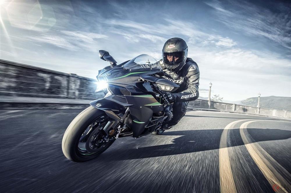 カワサキ「Ninja H2」燃料消費量を抑えつつも出力は向上【EICMA2018】