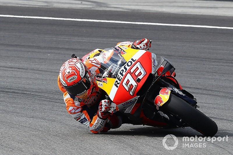 """【MotoGP】マルケスも""""神セーブ""""の繰り返しは嫌? フロントタイヤの高負荷軽減を望む"""