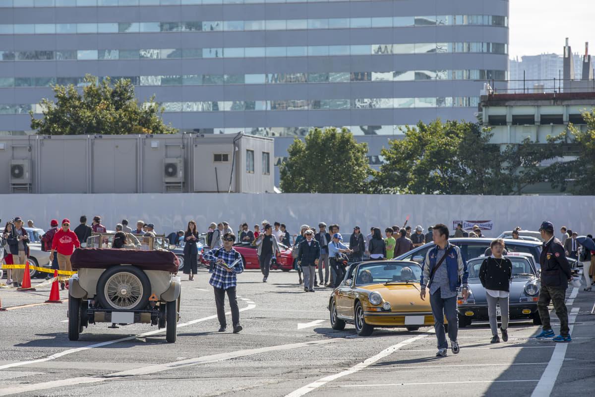 「THE銀座RUN エシカルミーティング」に80台の名車が集結! 懐かしのクルマが都内をパレード