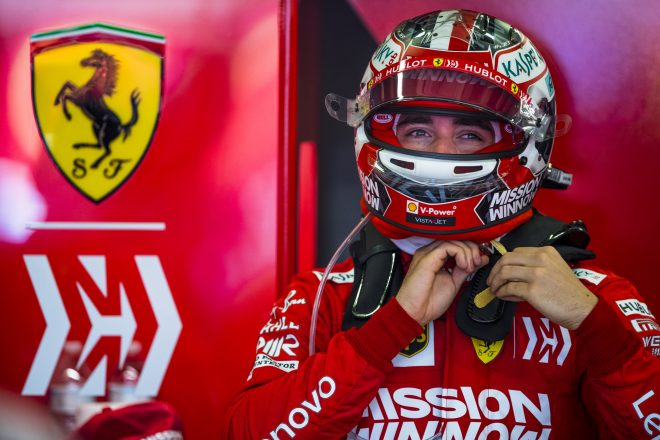 フェラーリのルクレール「F1昇格2年目でランキング3位争いをするとは予想していなかった」