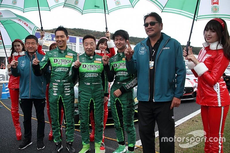 【スーパー耐久】第6戦岡山|藤井誠暢、D'station Racingでの初勝利に感慨「この1勝はすごく嬉しい」