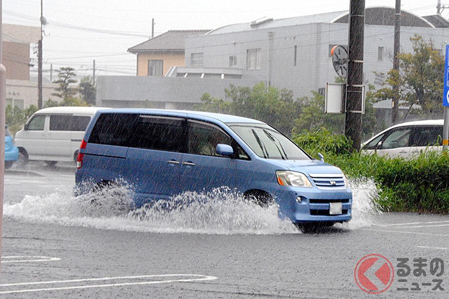洪水警報時にはパチンコ屋に避難せよ!? 車の垂直避難に適する場所とは