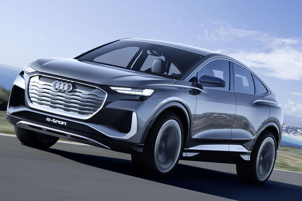 【クーペスタイル電動SUV】独アウディ、Q4スポーツバックeトロン発表 EVの新型コンセプト