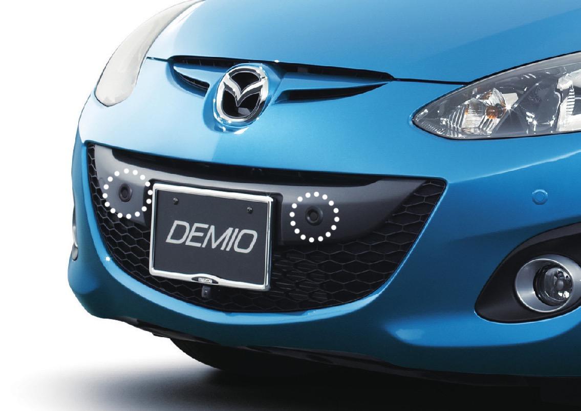 マツダ、デミオとベリーサに後付けできる「ペダル踏み間違い加速抑制装置」を販売開始