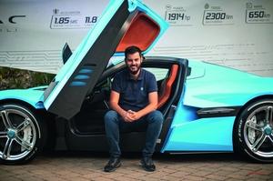 リマック EVメーカーとしての未来と過去 グランドツアーでの事故