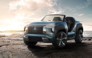 【TMS2019】ガスタービンもすごいが四駆システムもスゴい!三菱のバギースタイルな電動SUV「MI-TECH CONCEPT」