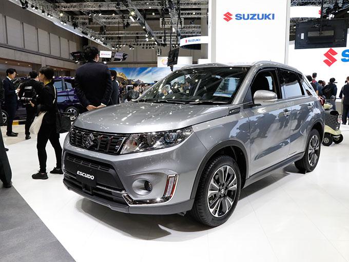 スズキの目玉は、変化するコンパクトPHEVと自動運転車。人気モデル「ハスラー」のコンセプトカーも【東京モーターショー2019】