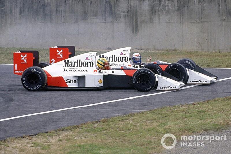 あれから30年……セナ・プロの同士討ちが世界に衝撃を与えた89年日本GP