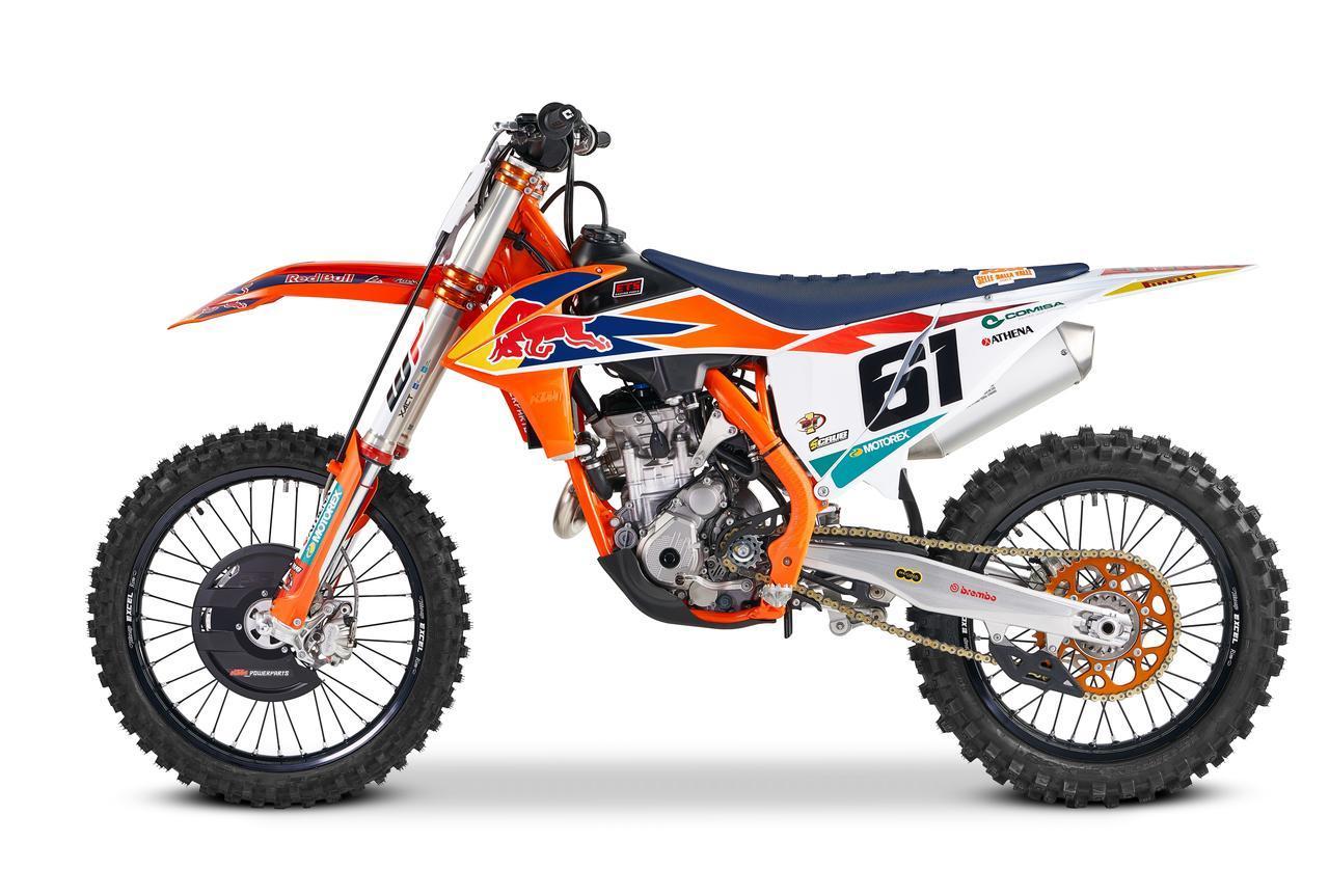 KTMから、究極のファクトリーレプとしてプラド、カイローリSPエディションが発表