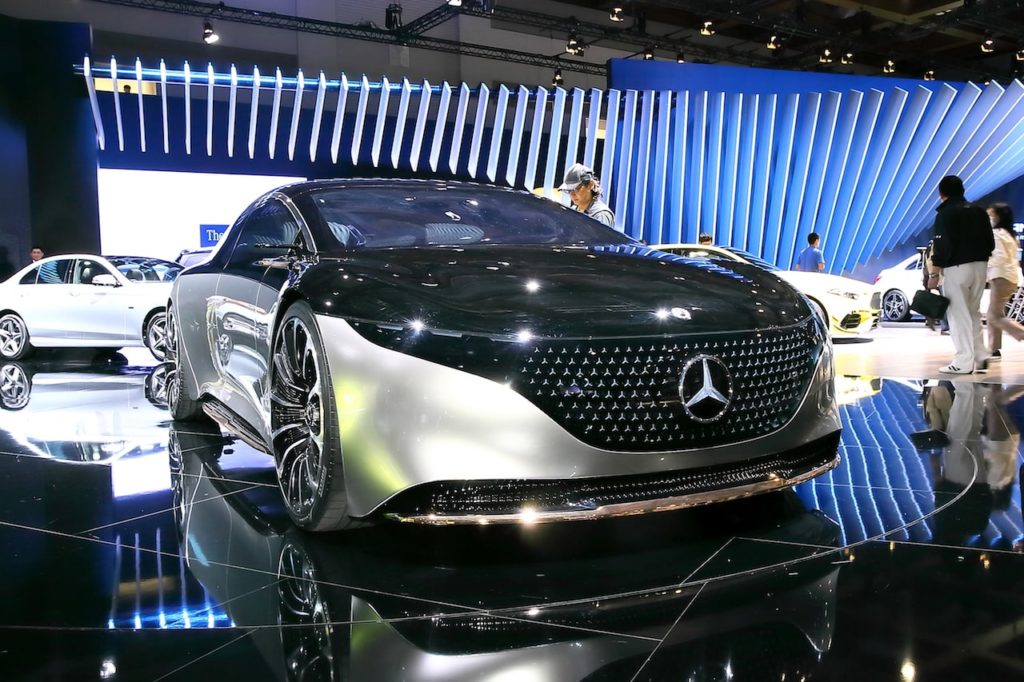 メルセデス・ベンツ、Vision EQSを日本公開。Sクラスセダン級EVの登場を示唆するコンセプトカー