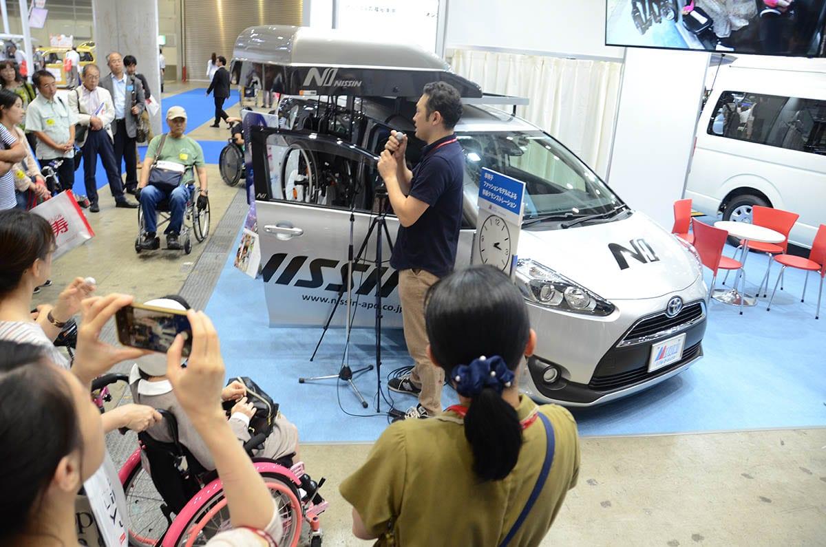 """【動画もあるよ】取材レポート#最終回3/3_国際福祉機器展に行ってきた。福祉車両の""""いま""""と""""未来""""をレポート"""