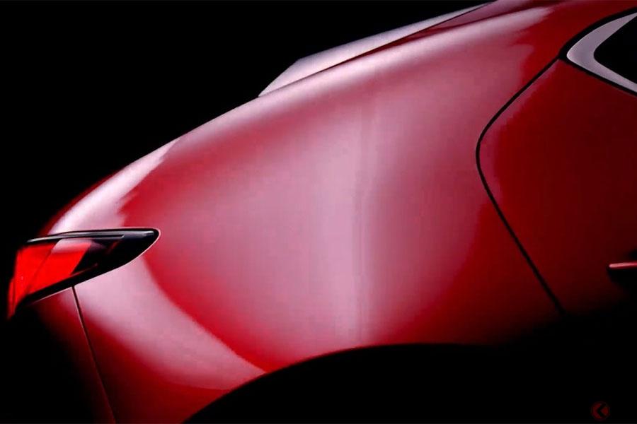 マツダがついに仕掛ける次世代戦略車の第1弾 新型「アクセラ」予告動画を公開