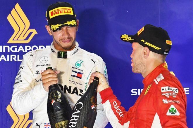 F1アメリカGP:ハミルトンが2018年タイトルを獲得する条件。ボッタスの役割も重要に