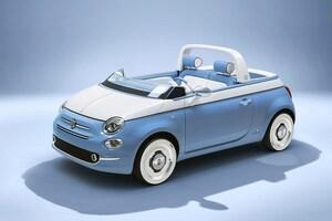 フロントウインドウを大胆カット。フィアット500ベースの斬新コンセプトカー発表 市販の可能性も