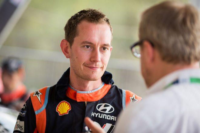 WRC:ヒュンダイ所属コドライバー、セブ・マーシャルが2019年トヨタ加入。クリス・ミークとコンビ
