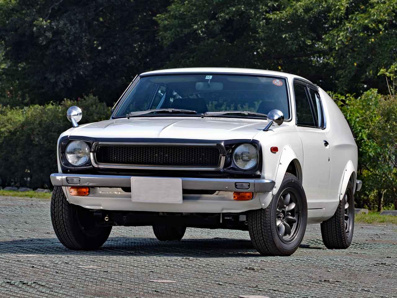 【旧車】初代チェリークーペ「名機A型エンジンを搭載した小さな傑作車」