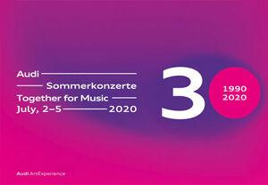 Together for Music! 7月2日から5日、30周年を迎えたアウディサマーコンサートをオンラインで初開催。