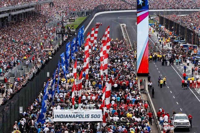 インディカー:8月23日決勝の第104回インディ500は観客を受け入れて開催へ。最大収容人数の50%まで