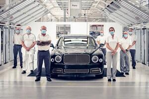 ベントレー、ミュルザンヌの生産を終了 伝統の6.75Lの歴史にも幕