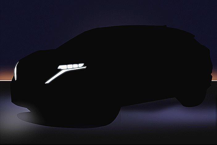 日産、7月発表の新型EV「アリア」のイメージ写真 事前公開