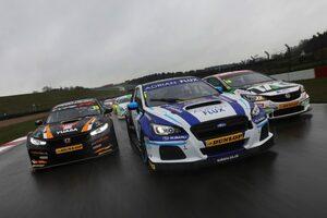 BTCC:スラクストン・テストは王者サットンのスバル・レヴォーグGTがトップタイム