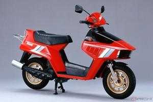 2サイクルエンジン採用した世界初の原付スクーター「ホンダ・ビート」には、世界初採用装備満載!
