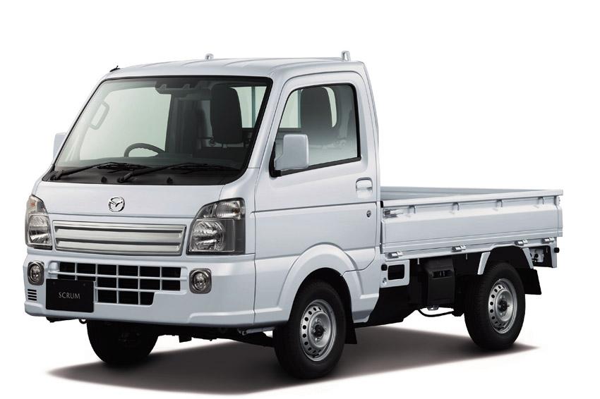 マツダ 軽トラ「スクラムトラック」を一部改良