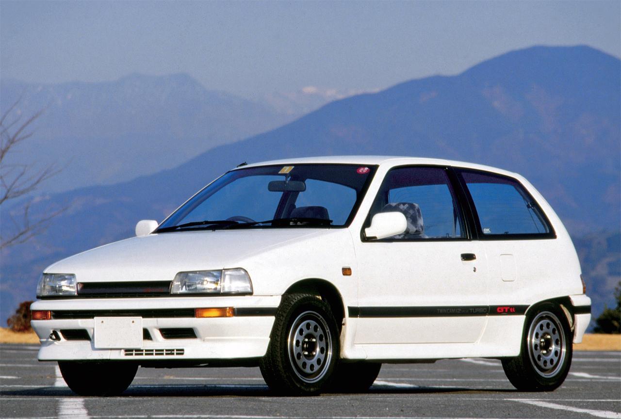 【昭和の名車 100】ダイハツ シャレード 3ドアHB GTti:昭和62年(1987年)