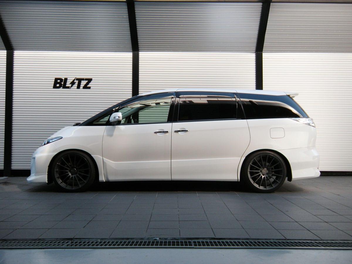 ブリッツの激落ち車高調「ダンパーZZ-R BB」に50エスティマ用が新設定!
