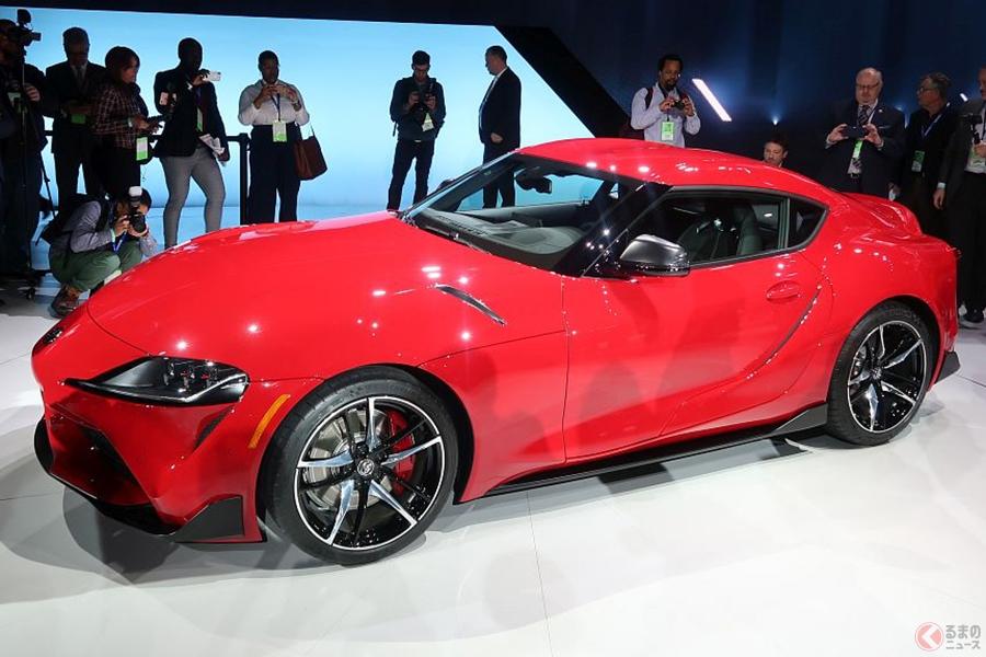 トヨタ 新型「スープラ」400万円台で出る? 86ユーザーが手の届く範囲の価格に すでに北米は兄弟車BMWより超安い